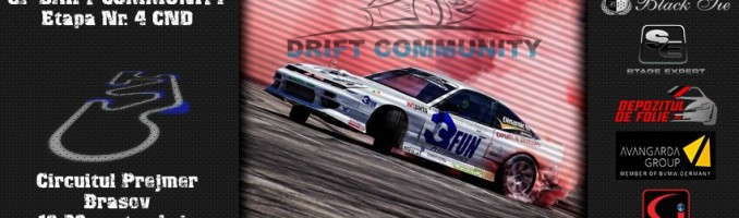 GP Drift Community – Etapa a 4-a a CNDR